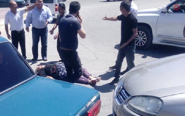 Tovuz sakini Bakıda piyadanı vurub öldürdü