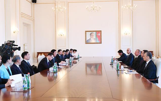 Prezident Li Canşunu qəbul etdi