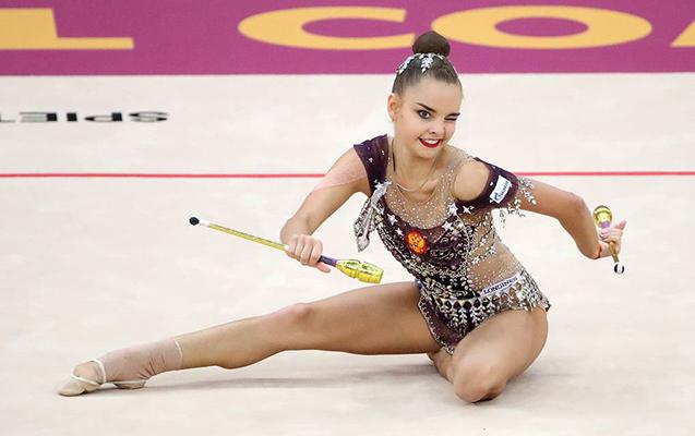 Rusiyalı gimnast Bakıda qızıl medal qazandı