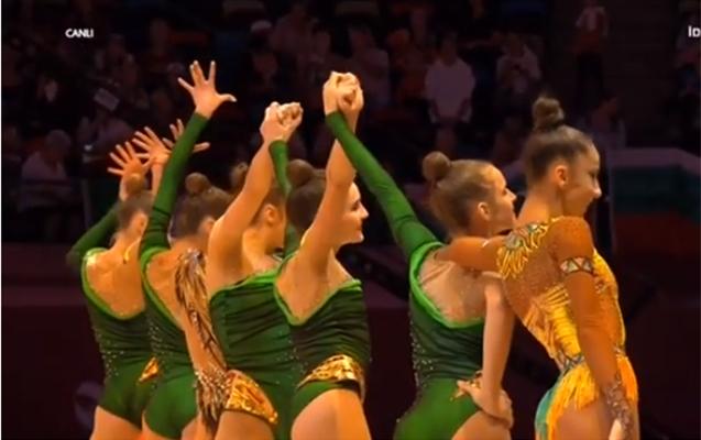 Bakıda bədii gimnastika üzrə DÇ-nin bağlanışı oldu