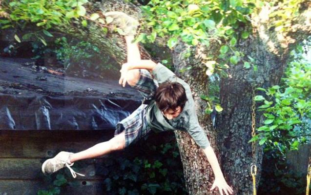 Zaqatalada gənc oğlan ağacdan yıxıldı, vəziyyəti ağırdır