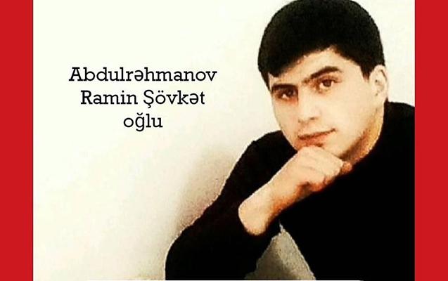 Ermənilərin vurduğu Raminin - Fotoları