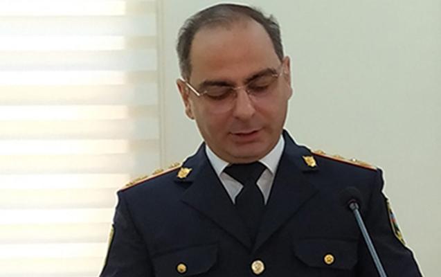 Bakı şəhər Baş Polis İdarəsinə rəis müavini təyin edildi