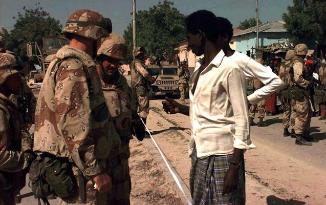 ABŞ hərbçiləri Somalidə 10 silahlını öldürdü