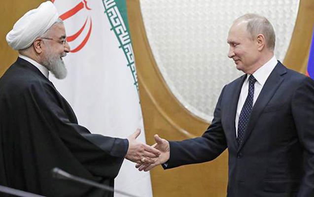 Putinlə Ruhaninin görüşü oldu
