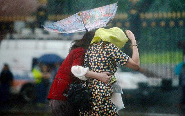 Rayonlara yağış yağacaq, külək güclənəcək