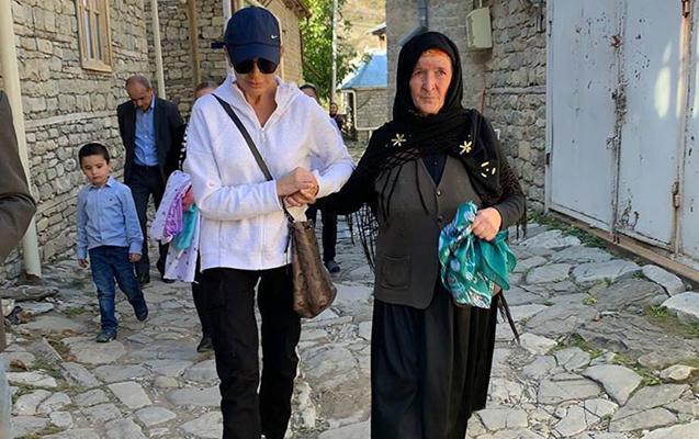 Mehriban Əliyevadan təşəkkür