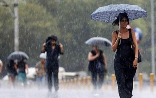 Güclü külək və yağış...