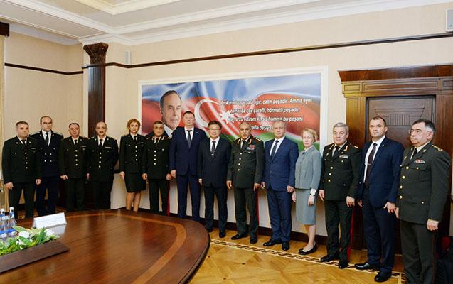 Rusiya baş hərbi prokuroru Bakıda