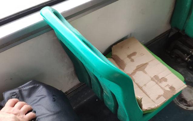 Sərnişinlər bu avtobusdan narazılıq etdi