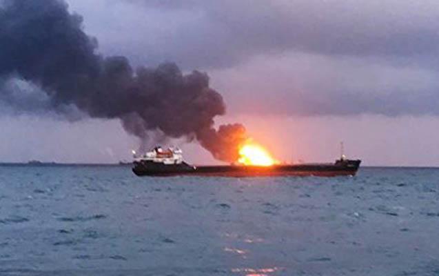 Qırmızı dənizdə İran tankeri partladı