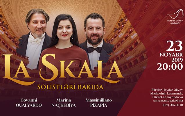 """""""La Skala"""" solistləri Bakıya gəlir"""