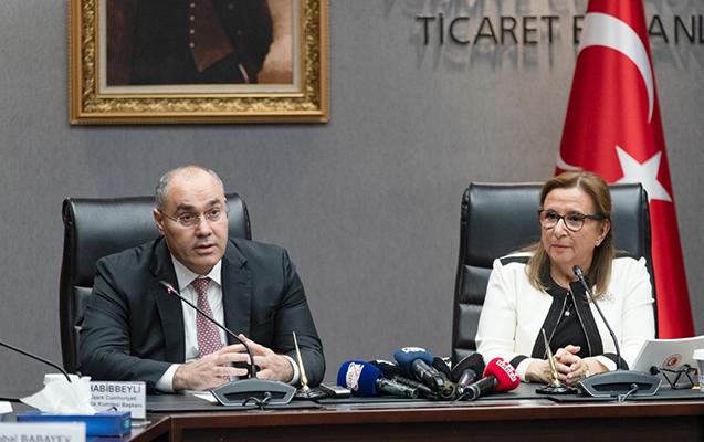 Səfər Mehdiyev Türkiyənin Ticarət naziri ilə görüşdü