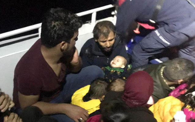 Türkiyədə qanunsuz miqrantların gəmisi batdı