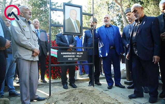 Vasim Məmmədəliyev torpağa tapşırıldı