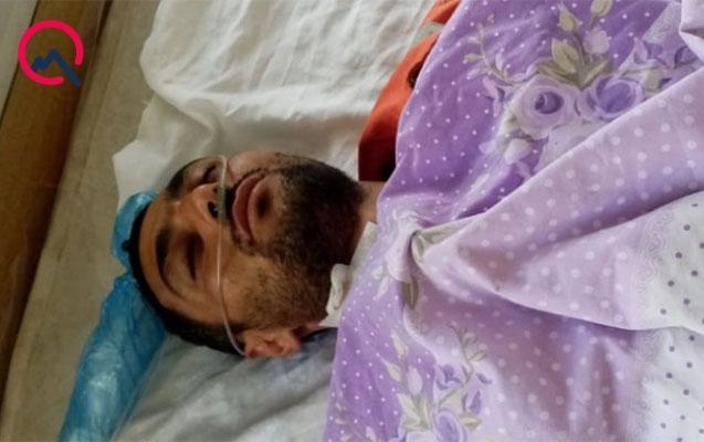 Fəhlə pambıq tayasından yıxıldı, ağır yaralandı
