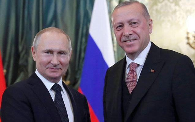 Putin Ərdoğanı Rusiyaya dəvət etdi