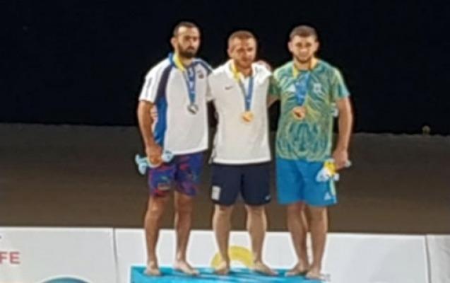Güləşçilərimiz I Dünya Çimərlik Oyunlarını 2 medalla başa vurdu