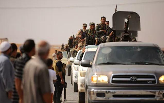Suriya ordusu 5 il sonra Rəqqaya daxil oldu