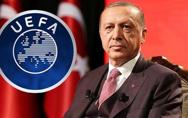 Ərdoğan UEFA-nın Türkiyəyə açdığı intizam işindən danışdı