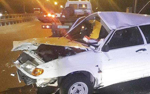 """""""Jiquli"""" mikroavtobusla toqquşdu, sürücü öldü"""