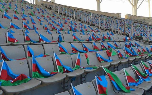 """Qarabağ"""" - APOEL matçında 30 min bayraq!"""