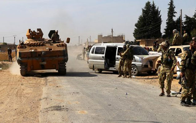 Terrorçular Suriyada atəşkəsi pozur