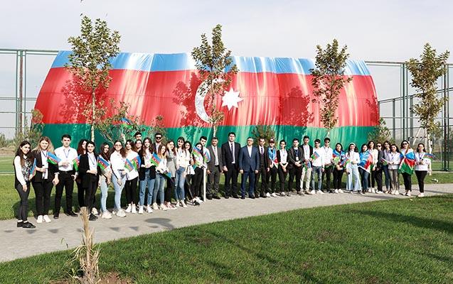 """""""Azərbaycan Diaspor Könüllüləri"""" Cocuq Mərcanlıda"""