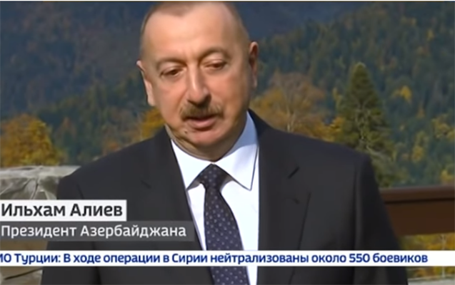 Rusiya kanalı reportajında Əliyevin tələbə biletini göstərdi
