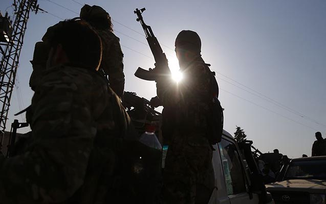 Terrorçular Suriya ordusuna hücum etdi