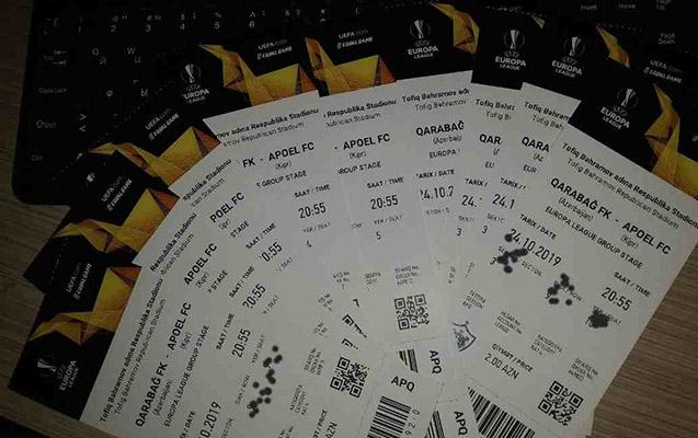 """""""Qarabağ""""ın oyununa 27 min bilet satılıb"""