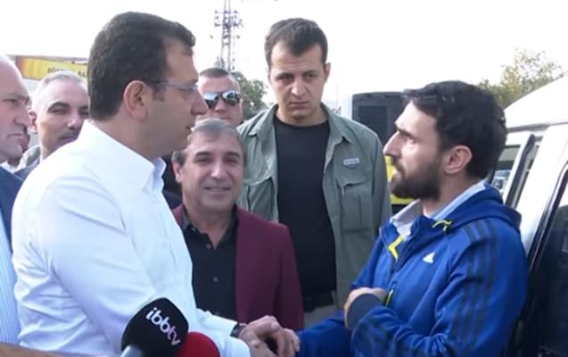 İmamoğlunun azərbaycanlı ilə maraqlı söhbəti
