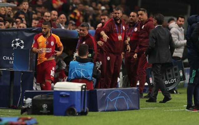 """""""Qalatasaray""""ın futbolçusu və azarkeşlər arasında gərginlik"""