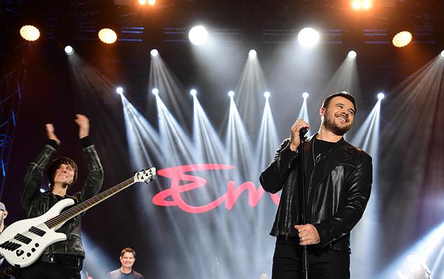 Emin Gəncədə möhtəşəm konsert verdi - Fotolar + Video