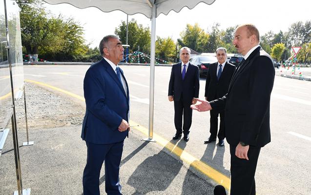 Prezident bu dəfə Saleh Məmmədova irad tutdu