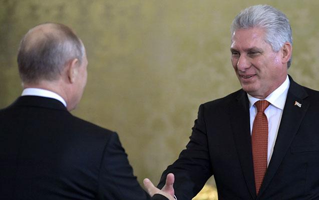 Putin Kubaya dəvət olundu