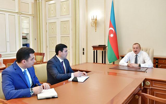 Prezident yeni icra başçıları ilə görüşdü