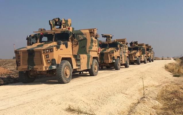 Rusiya ilə Türkiyə Suriyada ortaq patrul xidmətinə başladı - Fotolar