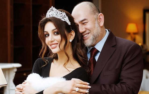 Eks-kral rus modeldən olan oğlunu qəbul etmir - Foto