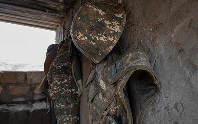 Erməni ordusunda insident