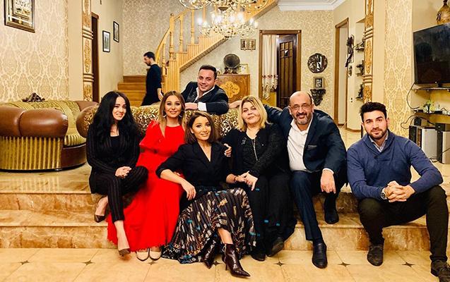 Tanınmışlar Səmədzadənin villasına toplaşdı - Fotolar