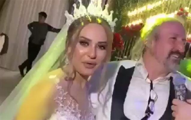 Türkiyəli aparıcı Bakıda evləndi
