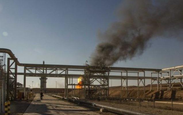 Suriyada neft emalı zavodunda partlayış, ölən və yaralananlar var