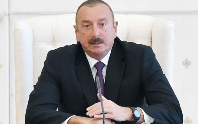 Əliyev Zelenskiyə başsağlığı verdi