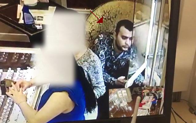 Bakıda mağazadan üzük oğurlayan şəxs saxlanıldı