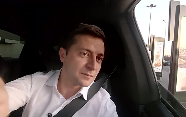 "Fastfud həvəskarı Zelenski ""McDonald's""da"