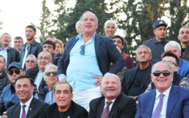Fərhad Əhmədov Göyçayda futbol izlədi