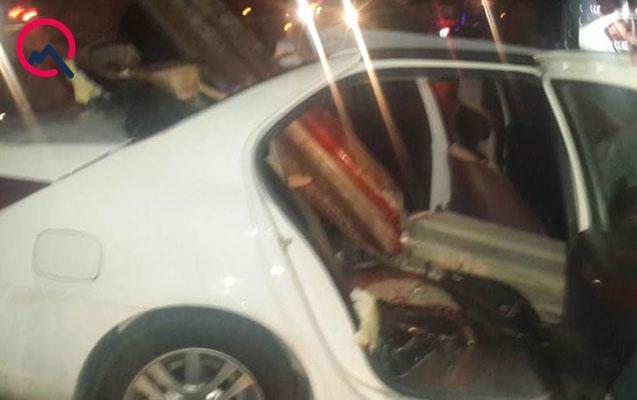 Başçının müavini qəzaya düşdü - Xanımı və sürücü öldü
