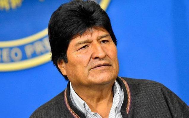 Boliviya prezidenti istefa verdi - Həbs edilmək üçün axtarılır