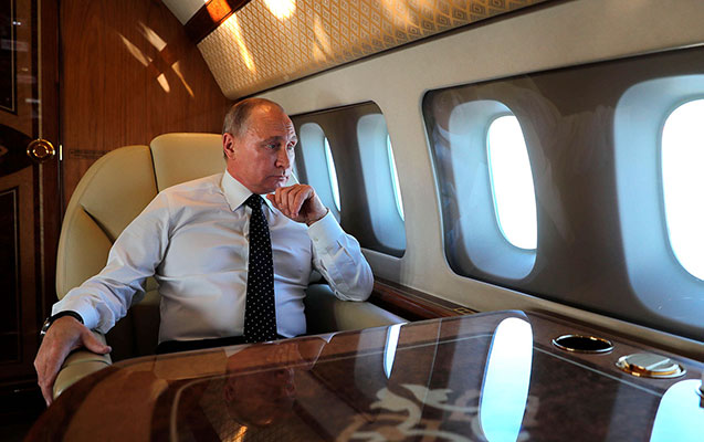 Putin Braziliyaya getdi